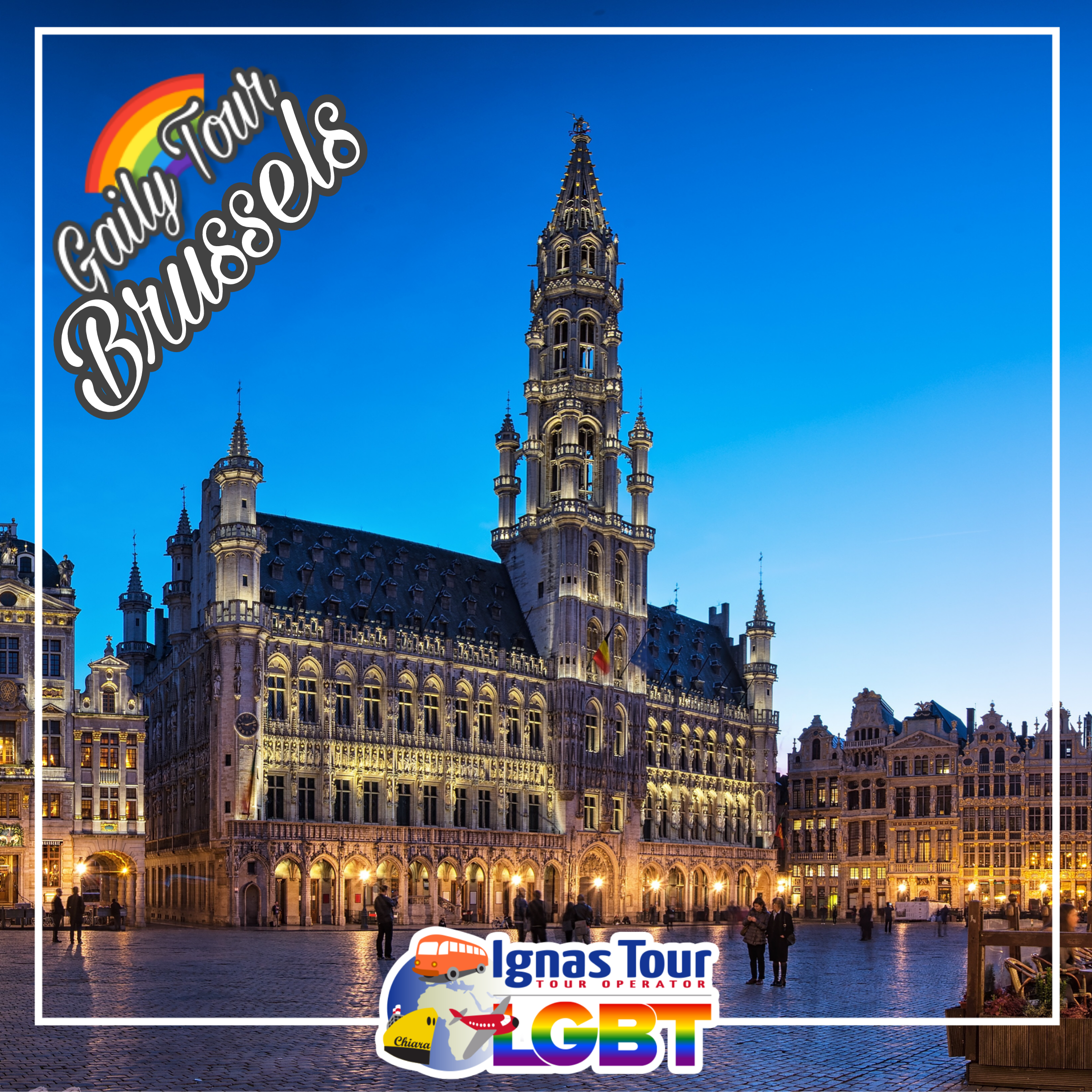 Most of Brussels gay bars, clubs, saunas and shops are located in the city centre along and around t