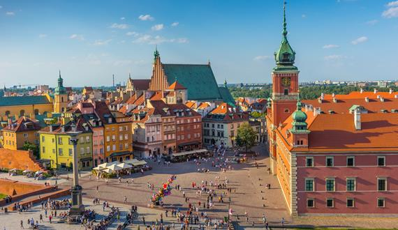 Gaily Tours & Excursions in Poland: Warsaw